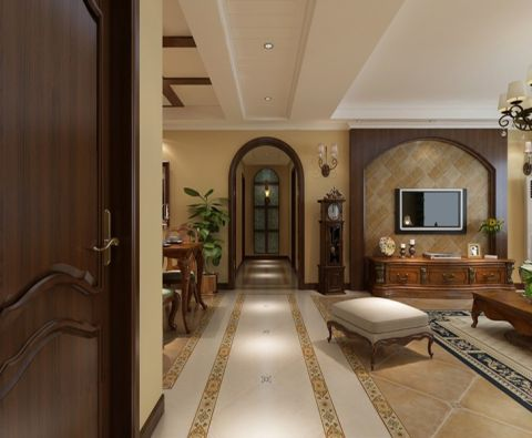 客厅新古典风格装潢图片