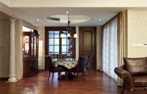 餐厅地板砖欧式风格装潢效果图