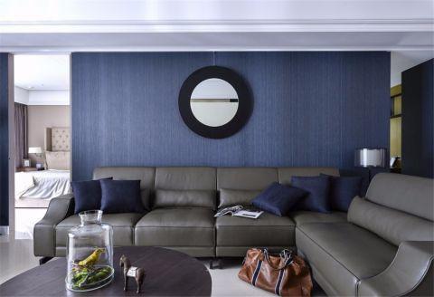 客厅沙发简约风格装修图片