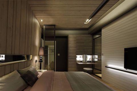 卧室隔断简约风格装修效果图