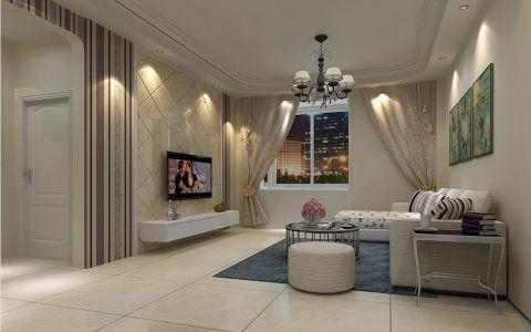 客厅照片墙简约风格装修图片