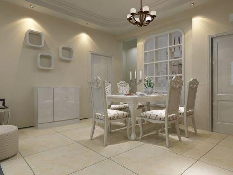 餐厅餐桌简约风格装饰图片