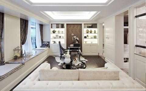 法式风格140平米公寓新房装修效果图