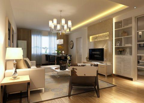 简约风格130平米四室两厅新房装修效果图