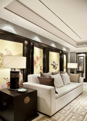 客厅沙发现代简约风格装修图片