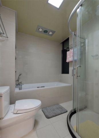 浴室浴缸现代简约风格装饰图片