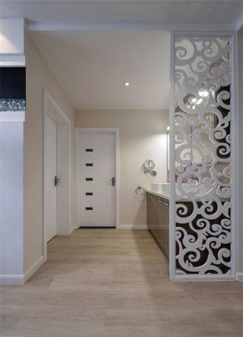 玄关隔断现代简约风格装饰设计图片