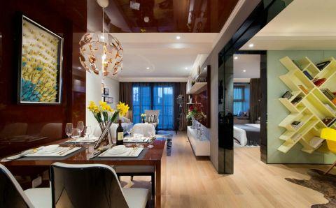 17万预算120平米三室两厅装修效果图