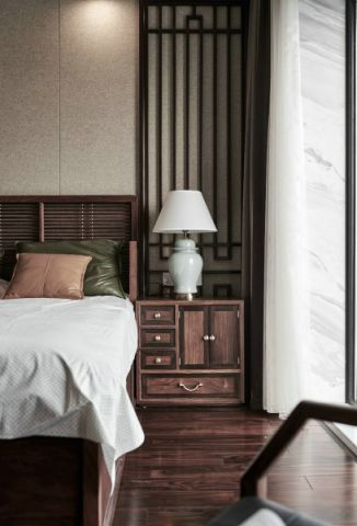 卧室床头柜中式风格装饰效果图