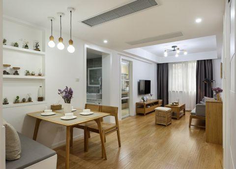 13.5万预算100平米两室两厅装修效果图