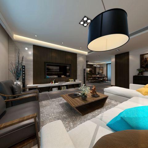 现代风格150平米四室两厅室内装修效果图