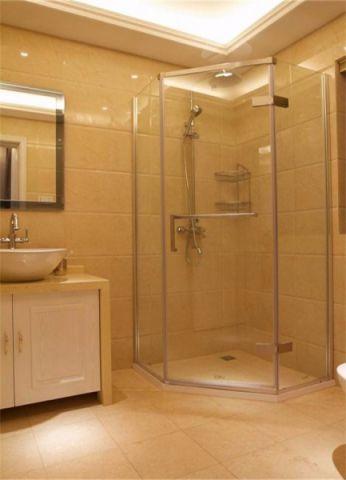 卫生间地砖欧式风格装修设计图片
