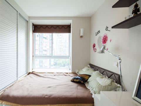卧室飘窗中式风格装潢图片