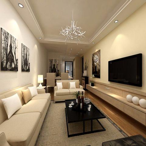 现代风格150平米三室两厅室内装修效果图