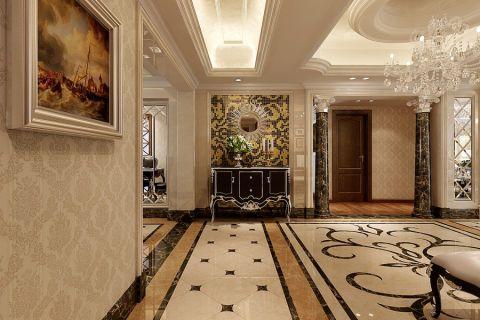 玄关白色吊顶欧式风格装潢图片