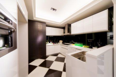 厨房橱柜后现代风格装修效果图