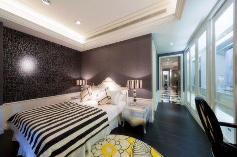 卧室床头柜后现代风格装潢效果图