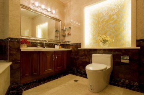 卫生间洗漱台欧式风格效果图
