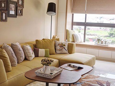 客厅茶几混搭风格装修效果图
