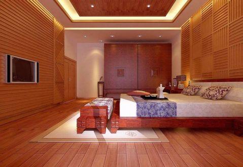 卧室衣柜中式风格效果图