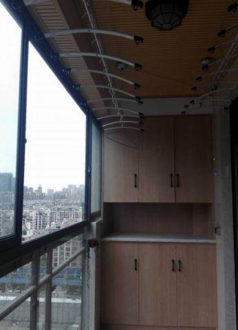 阳台细节现代简约风格装饰设计图片