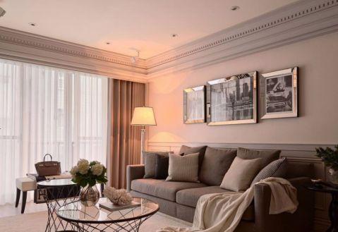 客厅照片墙新古典风格装修设计图片
