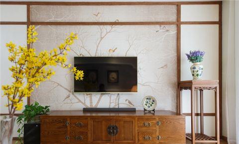 客厅电视柜简约风格装饰设计图片