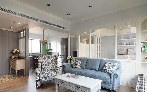 客厅沙发田园风格效果图