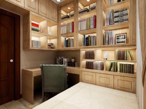 卧室书桌美式风格装饰图片
