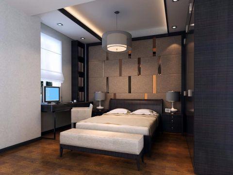 卧室吊顶中式风格装修设计图片