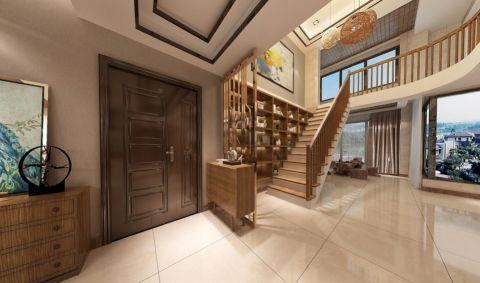 客厅楼梯欧式风格效果图