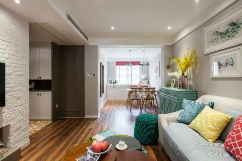 简欧风格150平米三室两厅新房装修效果图