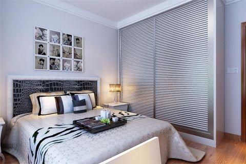 卧室照片墙中式风格效果图