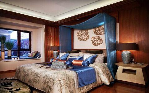 卧室飘窗东南亚风格装饰效果图