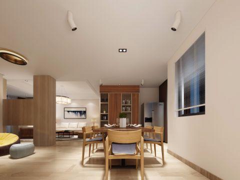 简约风格100平米复式楼室内装修效果图