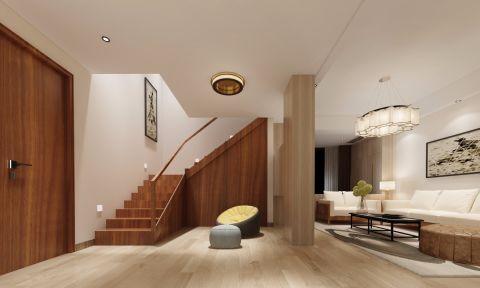 客厅楼梯简约风格装修效果图