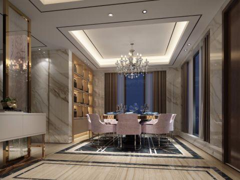 现代风格330平米别墅新房装修效果图