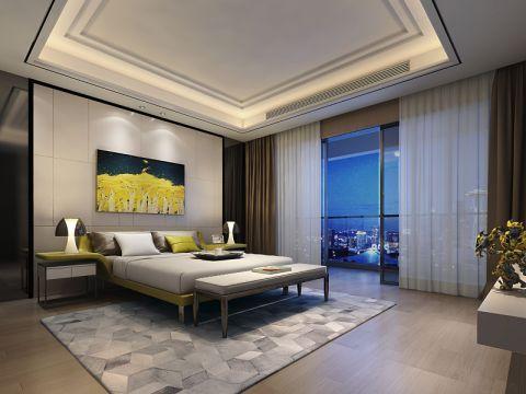 卧室吊顶现代风格装修设计图片