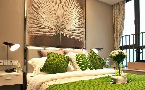 混搭风格98平米三室两厅室内装修效果图