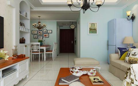 餐厅照片墙田园风格装潢效果图