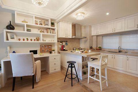 厨房吊顶美式风格装潢图片