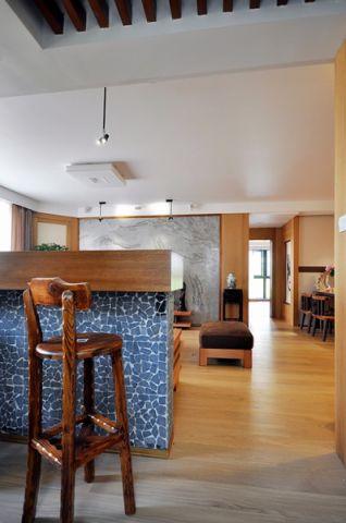 客厅吧台美式风格装饰图片