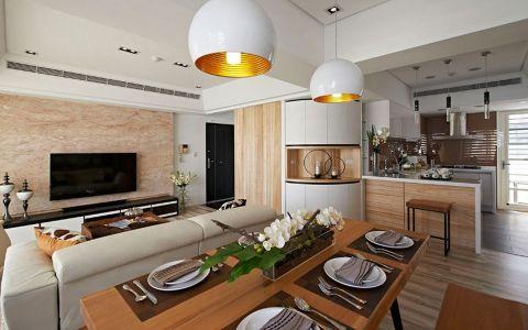 现代风格148平米公寓室内装修效果图