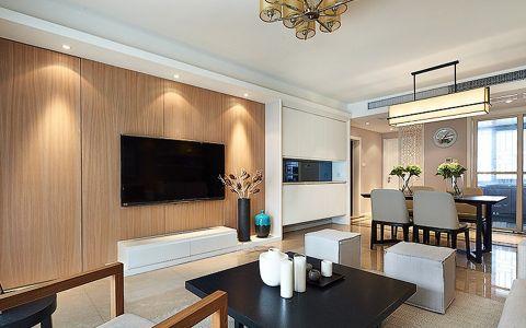 现代风格130平米公寓新房装修效果图