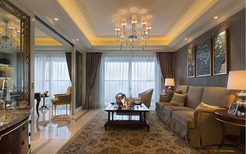 新古典风格130平米公寓室内装修效果图