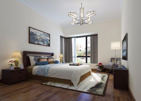 中式风格100平米复式楼新房装修效果图