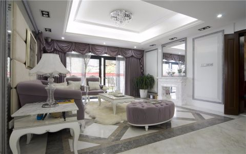 简欧风格135平米四室两厅新房装修效果图