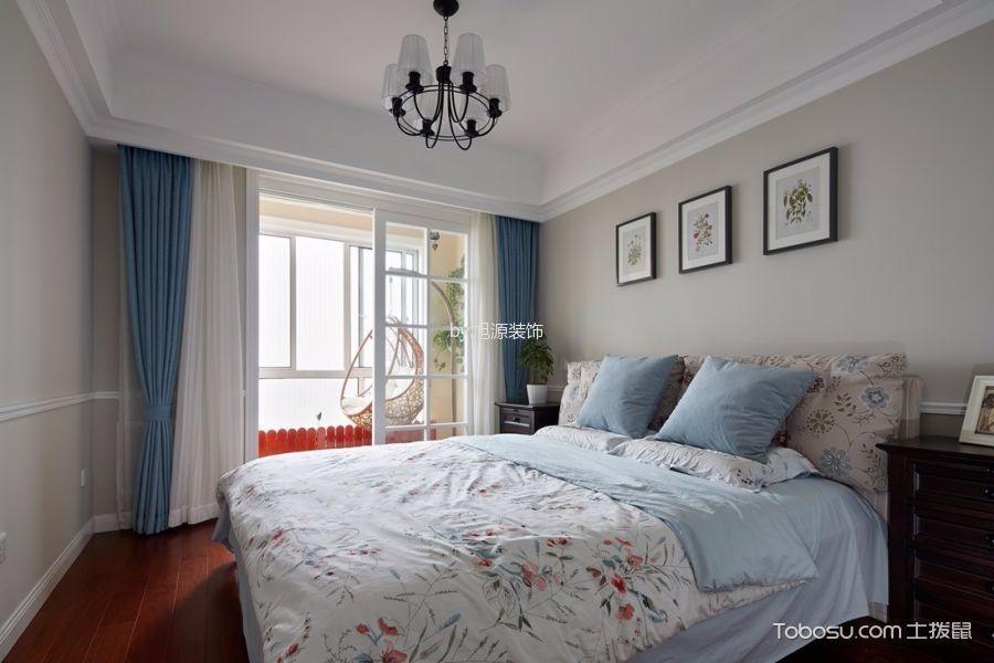 卧室灰色照片墙现代风格装修效果图