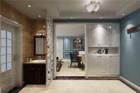 玄关地砖美式风格装饰效果图