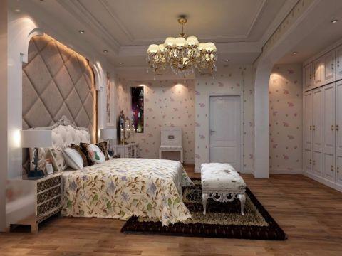 卧室床头柜欧式风格装饰效果图
